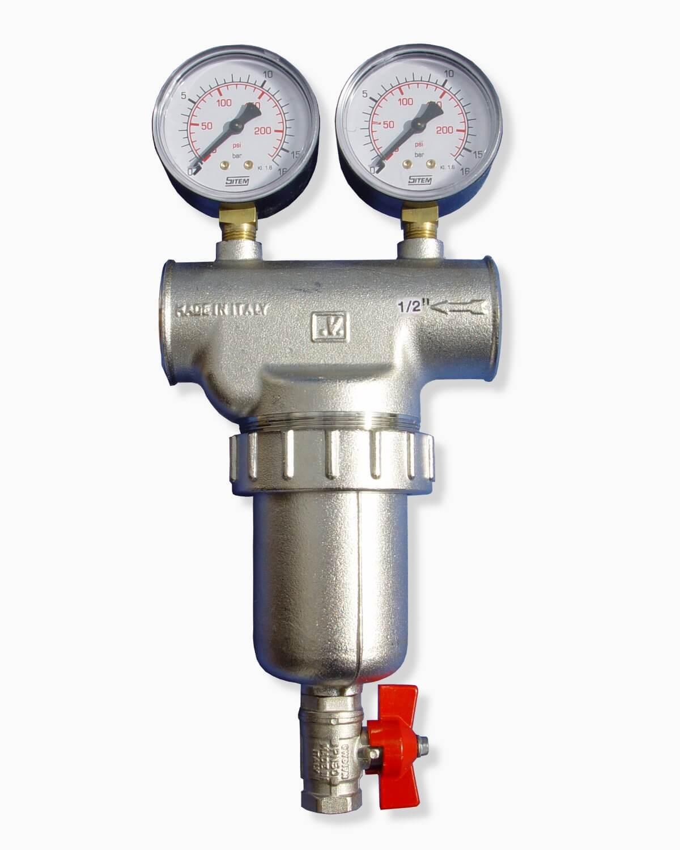 R cksp lfilter 0 5 f r schwebstoffe trinkwasser pool for Teich edelstahl