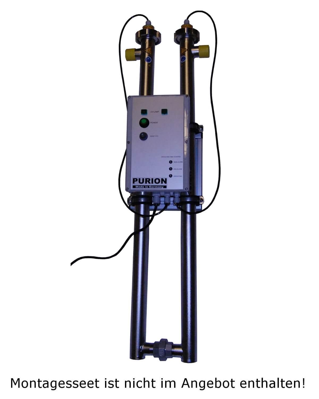 Purion 2500 dual 230v 36w trinkwasser uvc desinfektion f r - Wasserfilter fur pool ...